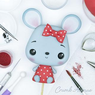 Mouse Cake Topper