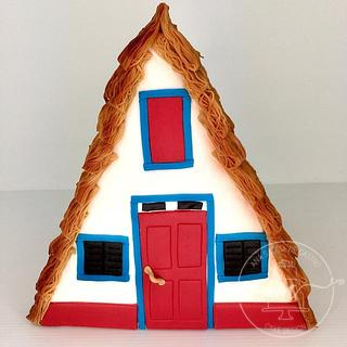 Santana's House - Portugal Wonders in Sugar - Cake by Ana Sabóia de Castro Cake Design