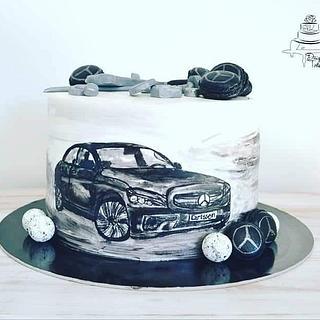 Mercedes cake - Cake by Krisztina Szalaba