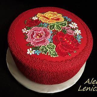 Birthday cake - Cake by lenicka