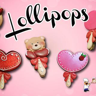 Lollipops  - Cake by NanitaPachita_AnaBorja
