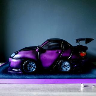 3D Car - Cake by Radoslava Kirilova (Radiki's Cakes)