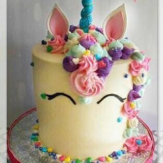 Unicorn Cake - Cake by Bethann Dubey