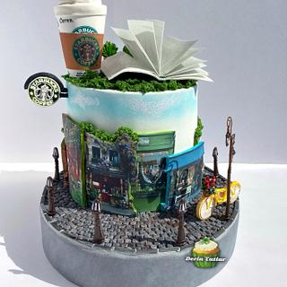 Starbucks Cake - Cake by Derin Tatlar