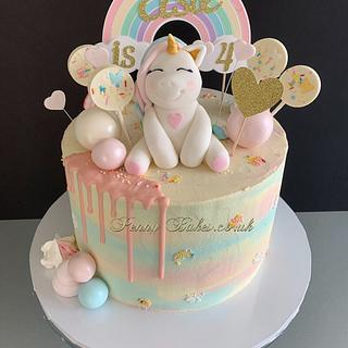 Little Unicorn cake - Cake by Penny Sue