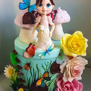 Fairy cake - Cake by Zoe Pappou