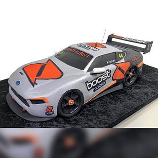 3D V8 Supercar Cake with Decals - Cake by Serdar Yener   Yeners Way - Cake Art Tutorials