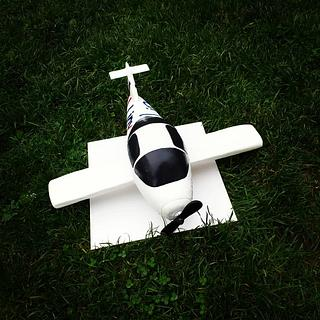 3D airplane cake - Cake by MRcakes
