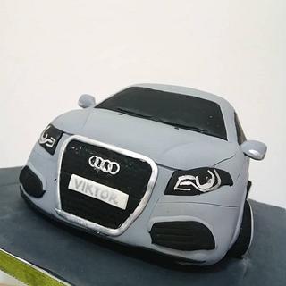 Audi 3D cake