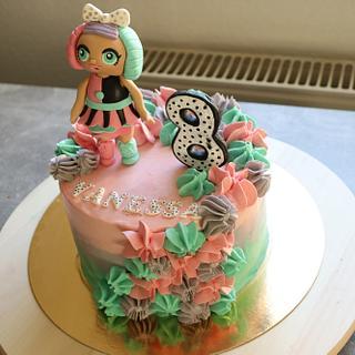 L.O.L. cake