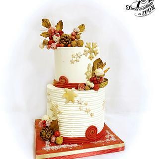 Cake for Christmas Eve