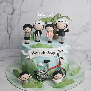 Cycling Cake