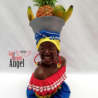 PALENQUERA - Colombia - Cake by Angel Torres