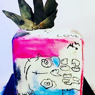 Lil Peep 21st Cake
