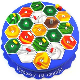 Catan Board Game Theme Cake - Cake by Shilpa Kerkar