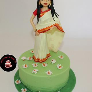Traditional Outfit. - Cake by Umme Kulsum
