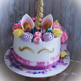 Unicorn  - Cake by Maja Motti