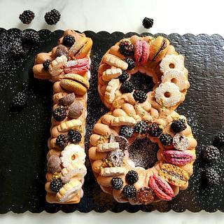 Summer Cake  - Cake by CupClod Cake Design