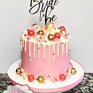 Bride To Be Cake
