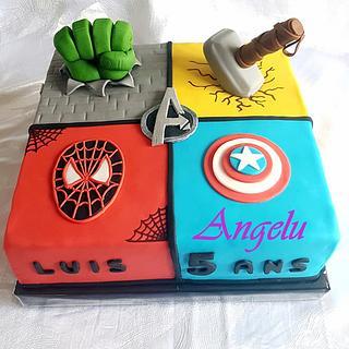Avengers cake - Cake by Angelu