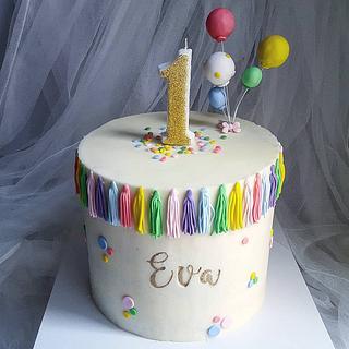 Balloons cake