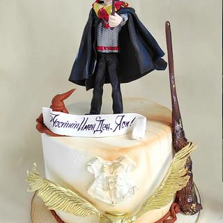 Harry Potter - Cake by Tanya Shengarova