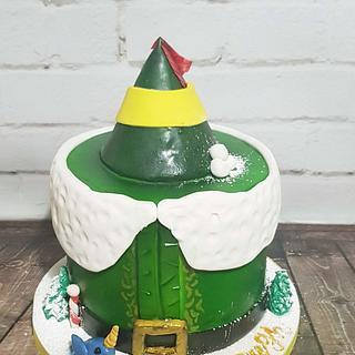 Buddy the elf cake
