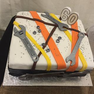 60th Wrench Cake