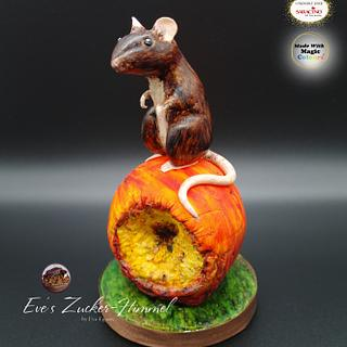 Little rat on the apple - Cake by Eve´s Zucker-Himmel
