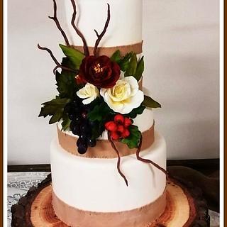 Autumm Cake - Cake by Cristina Quinci