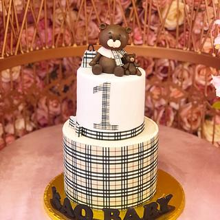 Burberry cake  - Cake by miracles_ensucre