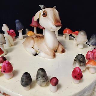 Baby Goat Cake - Cake by Sydney Megan Connor