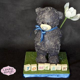 Teddy Bear - Cake by Lenkydorty
