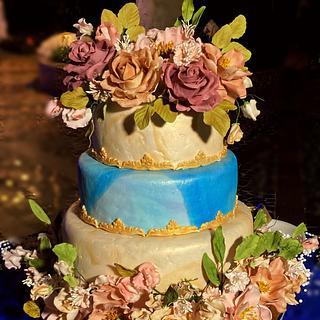 Wedding cake - Cake by Susanna Sequeira