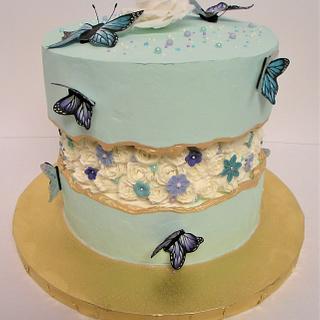 Fault Line Birthday cake