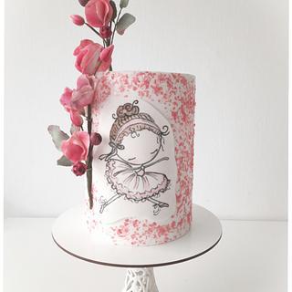Ballerina dreams - Cake by Silvia Caballero