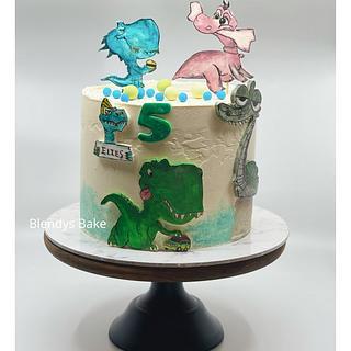 Dinausaur cake🦖 - Cake by blendys cakes