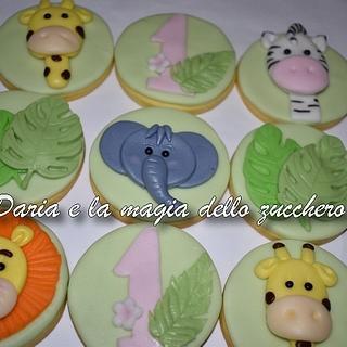 Baby savana cookies