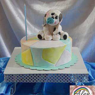 Mi 1er añito - Cake by Alexrepostería