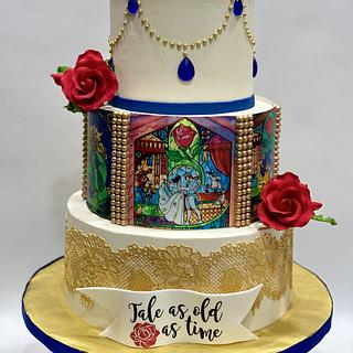 Wedding Cake  - Cake by Artistic Cake Designs