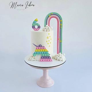 Pop it unicorn - Cake by Maira Liboa
