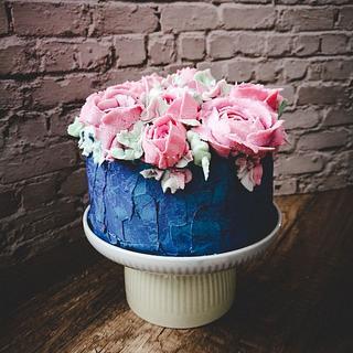 flower cake - Cake by Gateaux DéMila