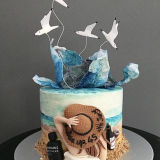 Summer - Cake by Pinar Aran