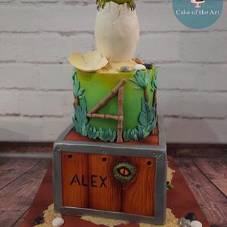 Dinosaur - Cake by Cake Of The Art