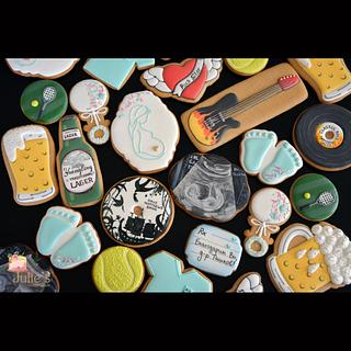 Cookies for the best doctor ever! - Cake by Julie's Sweet Cakes