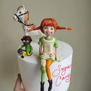 Pippi Longstocking - Cake by Tanya Shengarova