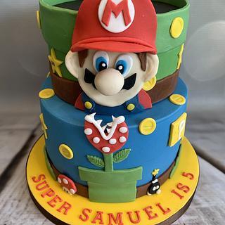 Super Mario cake - Cake by Roberta