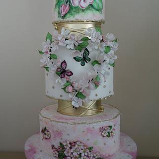 Competitive wedding cake - Cake by OSLAVKA