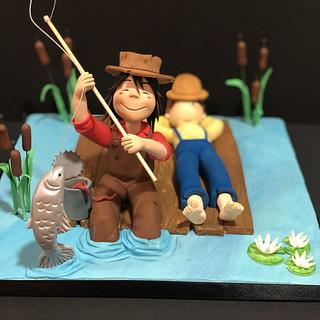 The Adventures of Tom Sawyer, for SUGAR ARTIST LEAGUE 80's Cartoons collaboration