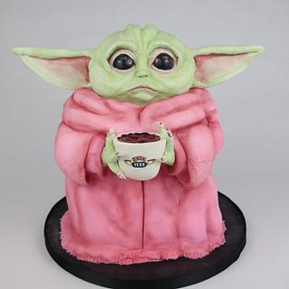 Baby yoda influenced by TheBirdsPapaya